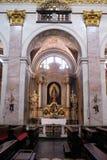 Altare in cattedrale di San Nicola a Transferrina Immagini Stock Libere da Diritti