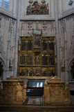 Altare in cattedrale di Toledo, Spagna Fotografie Stock Libere da Diritti