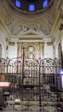 Altare-cattedrale di Valencia Fotografia Stock Libera da Diritti