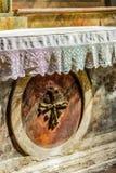Altare cattolico Immagini Stock Libere da Diritti