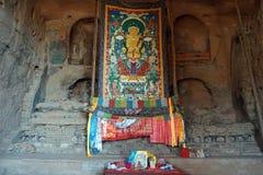 Altare in caverna della roccia Fotografie Stock Libere da Diritti