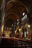 Altare centrale, chiesa di Cottolengo, Torino, Italia Fotografia Stock