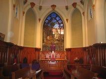 Altare, chiesa della st Paul, Chillicothe, Ohio Fotografie Stock