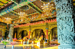 Altare cinese del tempiale Immagini Stock