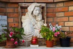 Altare commemorativo Fotografia Stock