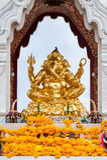 Altare con Ganesh fotografie stock libere da diritti