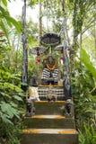 Altare con Ganesha, Bali Immagini Stock Libere da Diritti