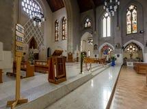 Altare D della cattedrale di Cardiff Immagini Stock Libere da Diritti