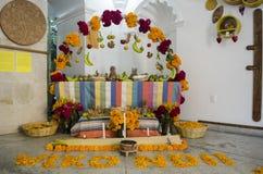 Altare d'offerta tradizionale Fotografie Stock