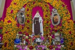 Altare d'offerta tradizionale Fotografia Stock