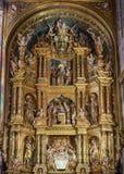 Altare decorato massiccio Immagine Stock Libera da Diritti