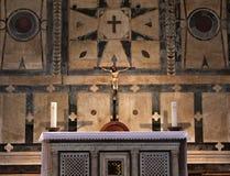 Altare del battistero di Firenze Immagini Stock