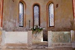 Altare del battistero, Grado Fotografia Stock Libera da Diritti