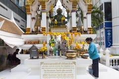 Altare del buddista della città Fotografie Stock