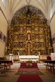 Altare del Colegiata de San Antolin, Medina del Campo Immagine Stock Libera da Diritti