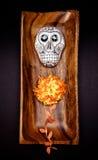 Altare del cranio dello zucchero Fotografia Stock