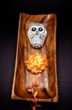 Altare del cranio dello zucchero per & x22; Dia de los Muertos& x22; Fotografia Stock