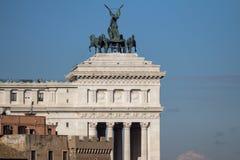 Altare del della Patria di Altare di patria a Roma Immagine Stock Libera da Diritti