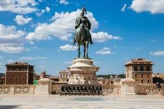 Altare del della Patria di Altare di patria Monumento nazionale a Victor Emmanuel II in Italia Fotografia Stock