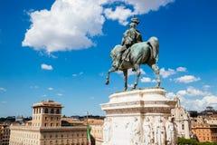 Altare del della Patria di Altare di patria Monumento nazionale a Victor Emmanuel II in Italia Immagine Stock Libera da Diritti