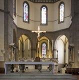 Altare del duomo Firenze Immagini Stock Libere da Diritti