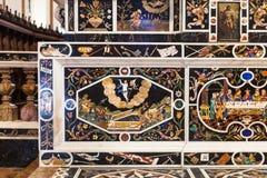 Altare del mosaico in Di Santa Corona di Chiesa in Vicenca Immagini Stock
