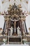 Altare del Trinitatis Kirke Fotografie Stock