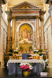 Altare del Vaticano Immagine Stock