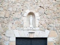 Altare del Virgin Fotografia Stock Libera da Diritti