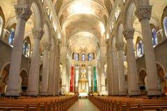Basilica del Sainte-Anne-de-Beaupre, Quebec Fotografia Stock