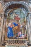 Altare della bugia Fotografia Stock