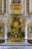 Altare della cappella del palazzo di Versailles Fotografia Stock Libera da Diritti