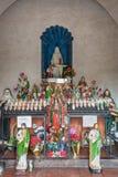 Altare della cappella di San Xavier Del Bac Mission, Tucson Arizona Fotografia Stock Libera da Diritti