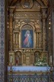 Altare della cappella della st John Evangelist College Church Immagine Stock Libera da Diritti