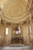 Altare della cappella, Venaria Reale, Torino Fotografia Stock