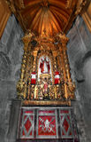 Altare della cattedrale Immagine Stock Libera da Diritti