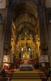 Altare della cattedrale Fotografia Stock