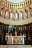 Altare della cattedrale anglicana della chiesa di Cristo, città di pietra, Zanzibar Immagine Stock
