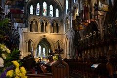 Altare della cattedrale della st Patricks Fotografia Stock Libera da Diritti
