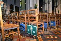 Altare della cattedrale della st Patricks, Dublino Immagini Stock