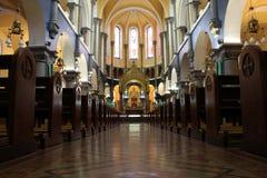 Altare della cattedrale dello Sligo Fotografia Stock