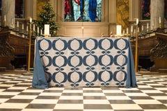 Altare della cattedrale di Birmingham Fotografia Stock Libera da Diritti