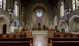 Altare A della cattedrale di Cardiff Fotografia Stock Libera da Diritti