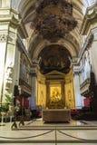 Altare della cattedrale di Palermo a Palermo, Sicilia, Italia Fotografia Stock Libera da Diritti