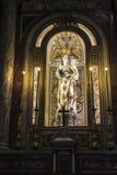 Altare della cattedrale di Palermo a Palermo, Sicilia, Italia Fotografie Stock