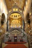 Altare della cattedrale di Pecs Fotografie Stock