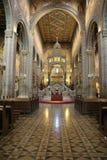 Altare della cattedrale di Pecs Immagine Stock