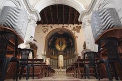 Altare della cattedrale di Salerno Fotografia Stock Libera da Diritti