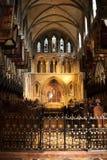 Altare della cattedrale di St Patrick Fotografia Stock