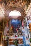 Altare della cattedrale di St Peter - Vaticano Fotografie Stock
